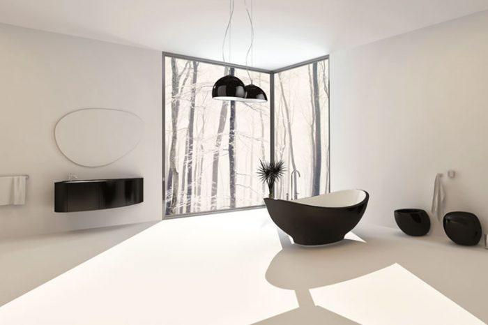 Guida gratuita all illuminazione per interni ed esterni della tua casa - Illuminare il bagno ...