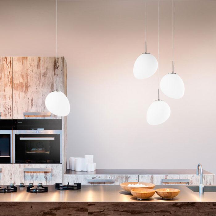 Illuminare la zona pranzo-cucina